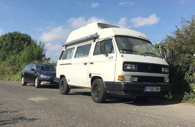 Converted van Volkswagen T3/T25/Vanagon For rent in Edinburgh