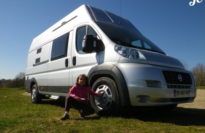 Converted van Fiat Ducato For rent in Meaux