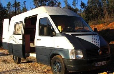 Campervan Vw Lt 35 em aluguer em Coimbra