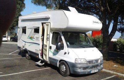 Camping-car Capucine Fiat Chausson Welcome 3 en location à Puget-Sur-Argens