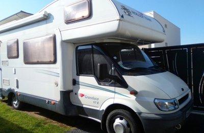 Camping-car Capucine Ford Transit Roller Team Granduca 67E en location à Portes-Lès-Valence