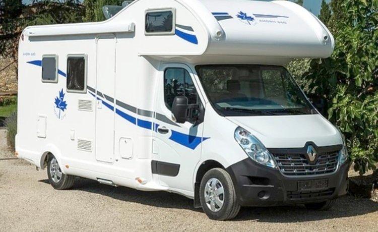 Rental Coachbuilt Rv Erlangen Ahorn A 660 Eco 2018 Yescapa