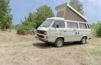 Converted van Original Westfalia Joker Volkswagen T3 For rent in Albagiara