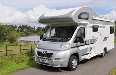 Motorhome Coachbuilt Elddis 180 Majestic For rent in Dalkeith