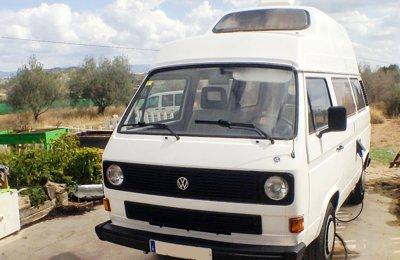 Camper Volkswagen T3 Joker En alquiler en Vilamarxant