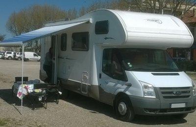 Camping-car Capucine Vilamobil (Rimor) Athenia381 en location à Flassans Sur Issole