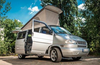 Van Vw T4 en location à Dresden