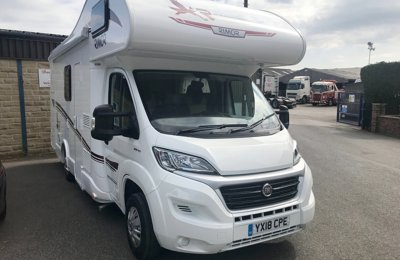 Motorhome Coachbuilt Rimor Seal 5 For hire in Drighlington