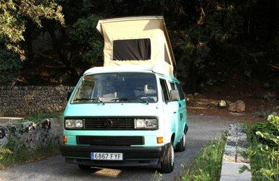 Camper Volkswagen California T3 '90 For rent in Palma