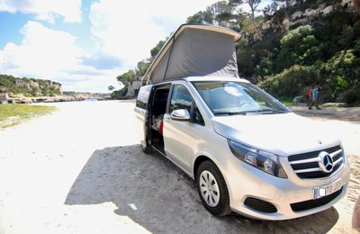 Camper Mercedes Marco Polo For rent in Palma