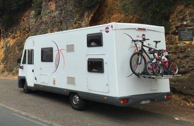 Camping-car Intégral Moovéo I717 en location à Bruz