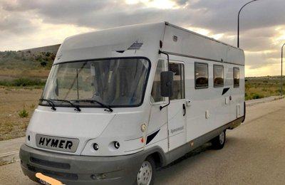 74dd945e52 A-Class Motorhome Hymer B655 To rent in Madrid