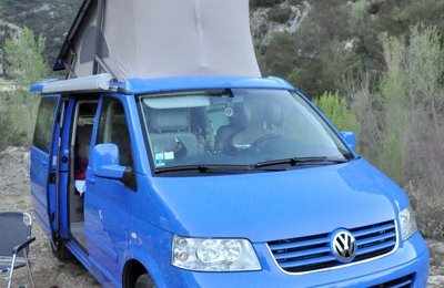 Camper Volkswagen T5 California For rent in Aigrefeuille