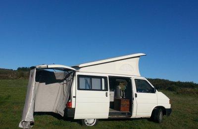 Furgoneta camper Volkwagen T4 California (O) En alquiler en Ourense