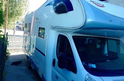 Camper Mansardato Giottiline Therry T45 condiviso a San Bonifacio