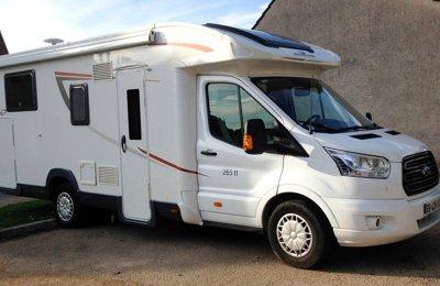 Camping-car Profilé Roller Team Kronos 265 Tl en location à Flagey-Echézeaux