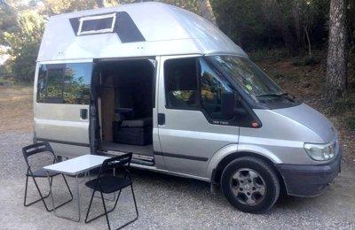 Furgoneta camper Ford Nugget en lloguer a Granada