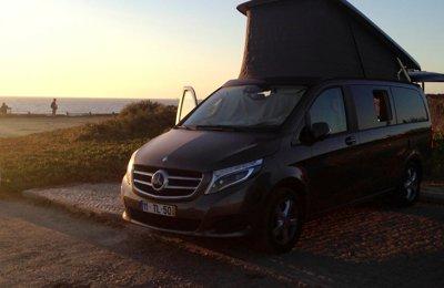 Campervan Mercedes V250D Marco Polo em aluguer em Lisboa