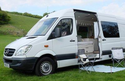 Van Mercedes Sprinter en location à Banwell