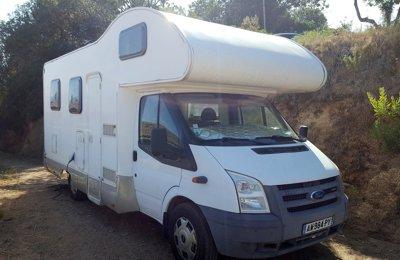 Camping-car Capucine Rimor Katamarano en location à Grosseto-Prugna