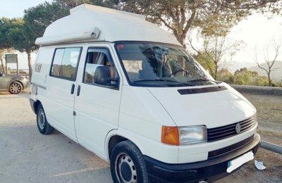 Furgoneta camper Volkswagen Kombo En alquiler en Barcelona