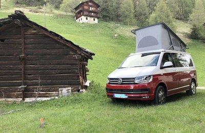 Van Volkswagen California en location à Caluire-Et-Cuire