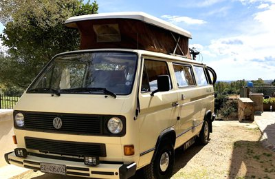 Camper La Chica - Volkswagen T3 For rent in Bari Sardo