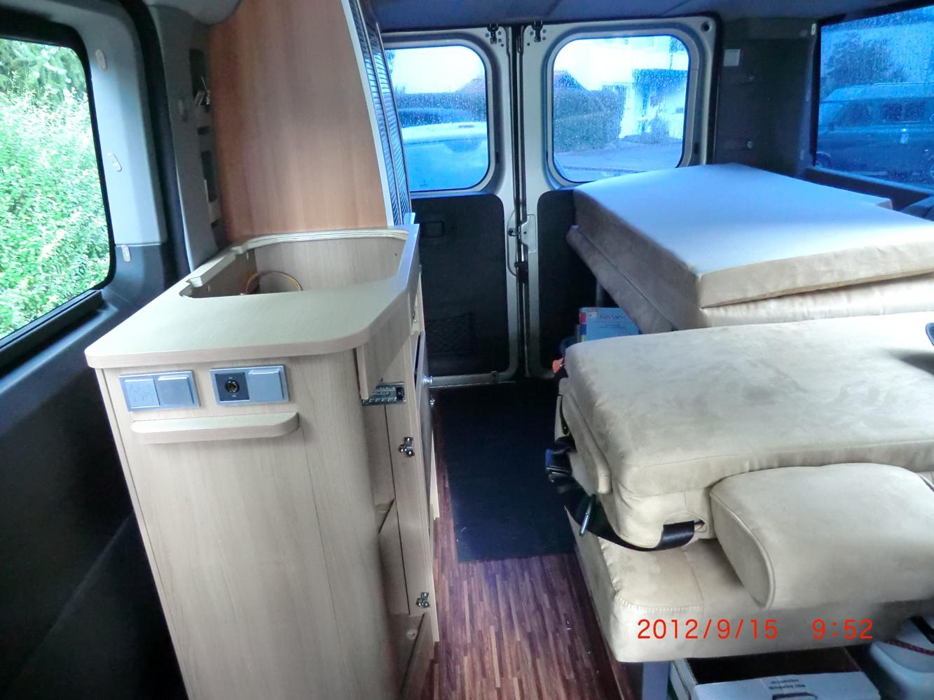location fourgon aménagé - zorneding - hymer car 302 2011 | yescapa