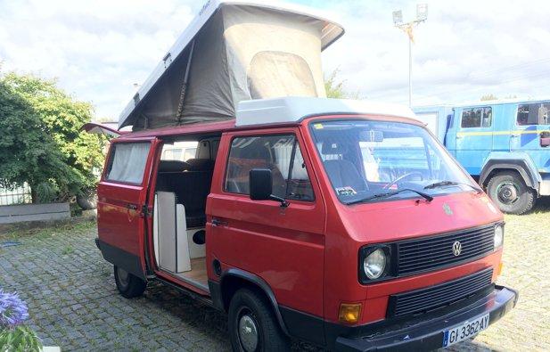 Viaggio con il Furgonato Volkswagen T3 Reimo