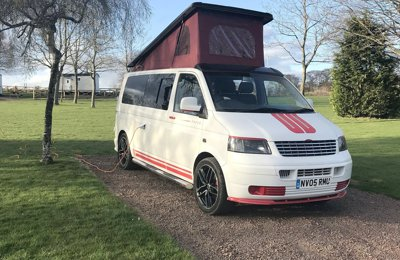 Campervan Vw Transporter For hire in Dalkeith
