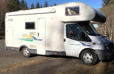 Camping-car Capucine Chausson Transit en location à Ceret