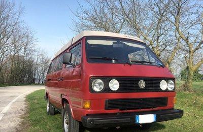 Van Volkswagen T3 Westfalia Rusty Campers Floki condiviso a San Bonifacio