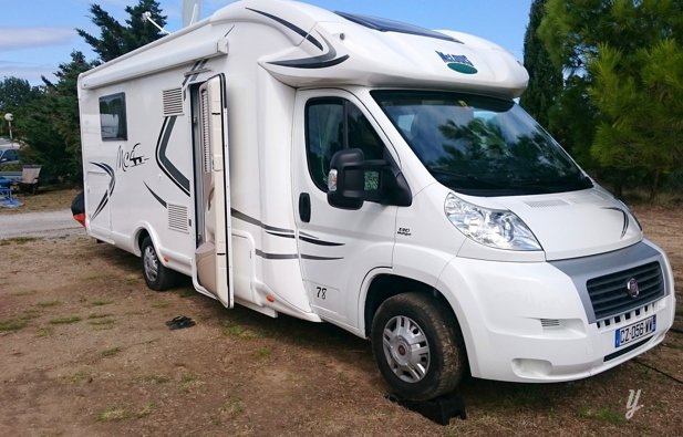 Location du Camping-car Profilé Maclouis Mc4 78G