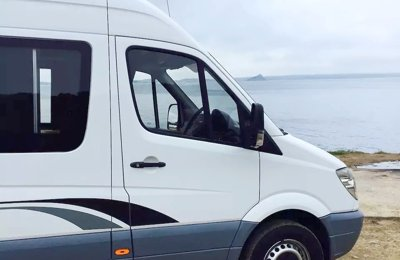 Converted van Mercedes Sprinter Mwb For rent in Truro