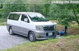 0ed177d3f5 Campervan Nissan Elgrand For hire in Radcliffe