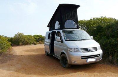 Van Volkswagen T5 en location à Roberval