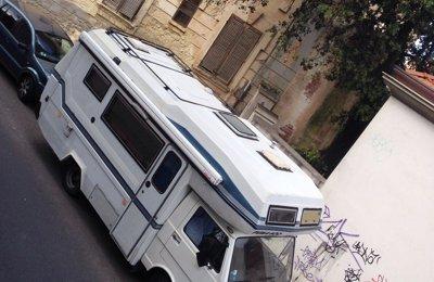 Camper Mansardato Volkswagen Puma 600 condiviso a Olbia