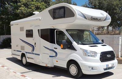 RV Coachbuilt Chausson C626 Flash For rent in Lliçà De Vall