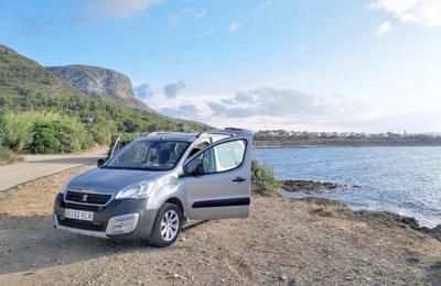 3586ce679f Campervan Peugeot Partner Teppe Multiadventure To rent in Palma