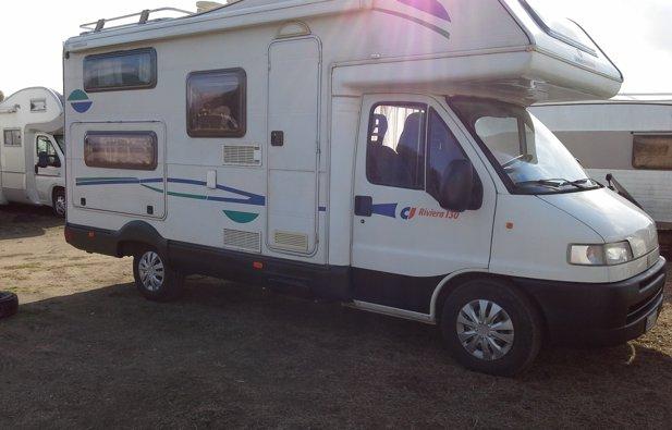 Viaggio con il Camper Mansardato Ci Internasional Ci Riviera 130
