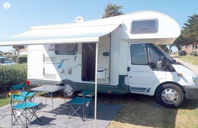 Camping-car Capucine Ci Carioca 599 en location à Couëron