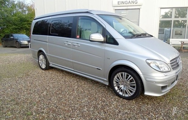 Rental Camper - Paris - Mercedes Viano Marco Polo 2010 | Yescapa on