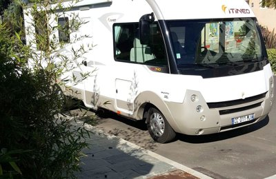 Camping-car Intégral Itineo Mb 740 en location à San-Nicolao