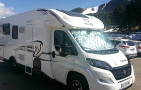 58d38635a2 Motorhome Low profile Elnagh Baron 581 For hire in Viladecans