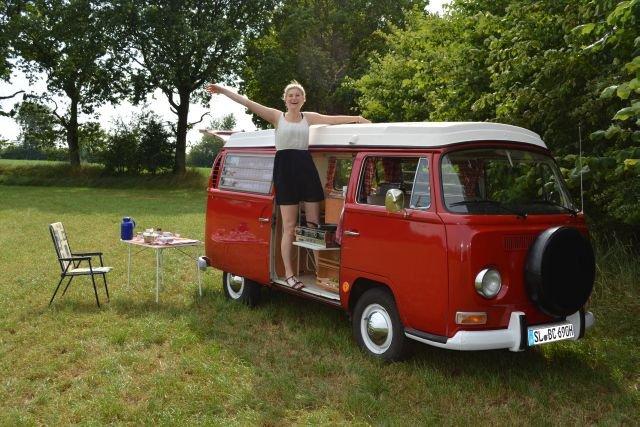 Etagenbett Vw Bus : Vermietung campingbus wees vw t a westfalia yescapa