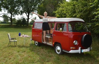 Campingbus Vw T2A Westfalia zu vermieten in Wees