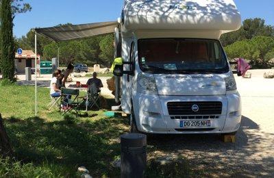 Camping-car Capucine Fiat Pilote Aventura en location à Perpignan