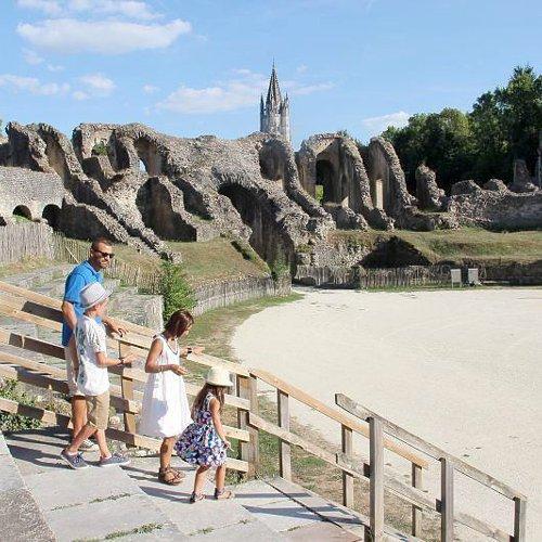 La Saintonge romane - Location de camping-cars