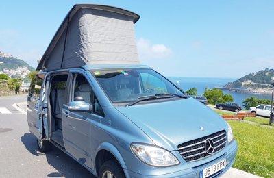 Camper Merceder Marco Polo En alquiler en San Sebastián