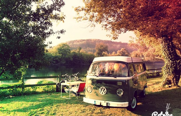 Location du Van Volkswagen T2B Bay Window Westfalia